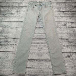 Abercrombie & Fitch skinny light wash jeans 26/35